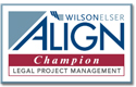 Wilson Elser ALIGN Champion Legal Project Management