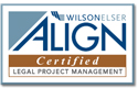 Wilson Elser ALIGN Certified Legal Project Management