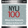 New York Law Journal ranks Wilson Elser the 21st largest law firm in New York.