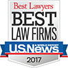 "U.S. News – Best Lawyers® Names Wilson Elser to its 2017 ""Best Law Firms"" List - Los Angeles - Wilson Elser"